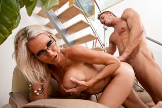 Bill Bailey & Emma Starr in My Friend's Hot Mom - Naughty America - Sex Position #14
