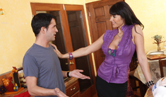 Eva Karera & Kris Slater in My Friend's Hot Mom - Naughty America - Sex Position #1