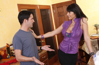Eva Karera & Kris Slater in My Friend's Hot Mom - Naughty America - Sex Position #2