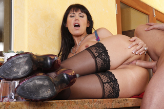 Eva Karera & Kris Slater in My Friend's Hot Mom - Naughty America - Sex Position #10