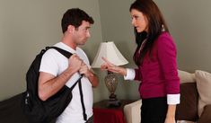 India Summer & James Deen in My Friend's Hot Mom - Naughty America - Sex Position #1