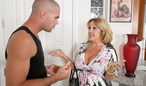 Charles Dera & Kandi Cox in My Friend's Hot Mom - Naughty America - Sex Position #1