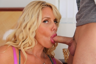 Karen Fisher & Kris Slater in My Friend's Hot Mom - Naughty America - Sex Position #4