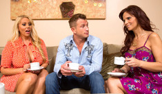Karen Fisher, Syren De Mer & Bill Bailey in My Friend's Hot Mom - Naughty America - Sex Position #1