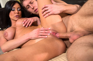Kendra Lust & Danny Wylde in My Friend's Hot Mom - Naughty America - Sex Position #7