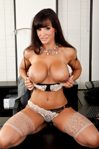 Lisa Ann & Seth Gamble in My Friend's Hot Mom - Naughty America - Centerfold