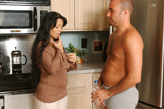 Hot MILF Mason Storm sucks and fucks a big cock from Naughty America