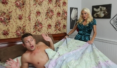 Nikita Von James & Bill Bailey in My Friend's Hot Mom - Naughty America - Sex Position #1