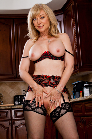 Nina Hartley & Dane Cross in My Friend's Hot Mom - Naughty America - Centerfold