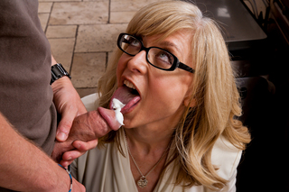 Nina Hartley & Dane Cross in My Friend's Hot Mom - My Friend's Hot Mom - Sex Position #3