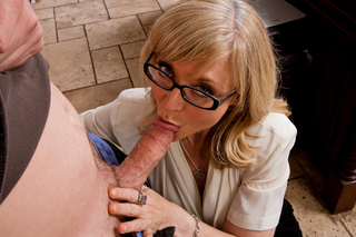 Nina Hartley & Dane Cross in My Friend's Hot Mom - Naughty America - Sex Position #4