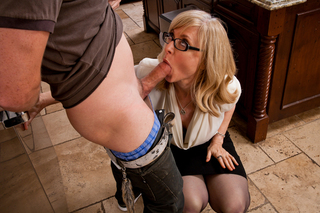 Nina Hartley & Dane Cross in My Friend's Hot Mom - Naughty America - Sex Position #5
