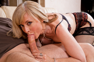 Nina Hartley & Dane Cross in My Friend's Hot Mom - My Friend's Hot Mom - Sex Position #8