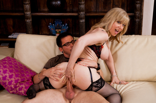 Nina Hartley & Dane Cross in My Friend's Hot Mom - Naughty America - Sex Position #10