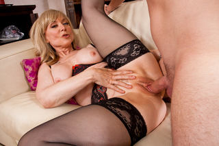 Nina Hartley & Dane Cross in My Friend's Hot Mom - My Friend's Hot Mom - Sex Position #11