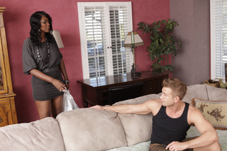 Nyomi Banxxx & Bill Bailey in My Friend's Hot Mom - Naughty America - Sex Position #2