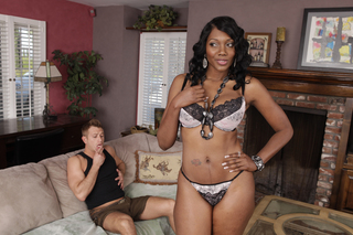 Nyomi Banxxx & Bill Bailey in My Friend's Hot Mom - Naughty America - Sex Position #3