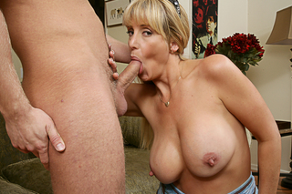 Danny Wylde & Olivia Parrish in My Friend's Hot Mom - Naughty America - Sex Position #5