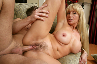 Danny Wylde & Olivia Parrish in My Friend's Hot Mom - Naughty America - Sex Position #11