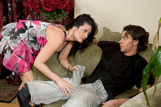 Raquel DeVine & Seth Gamble in My Friend's Hot Mom - Naughty America - Sex Position #2