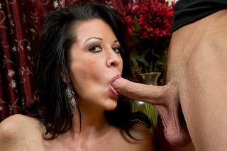 Raquel DeVine fucks her sons best friend from Naughty America