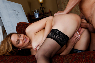 Sexy Mom fucks a friend of her sons from Naughty America