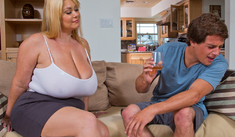 Samantha 38G & Tyler Nixon in My Friend's Hot Mom - Naughty America - Sex Position #1