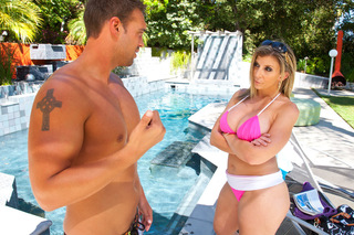 Busty Sara Jay takes this young stud for a ride from Naughty America