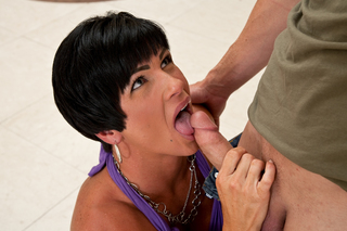 Short haired mom fucks a stud from Naughty America