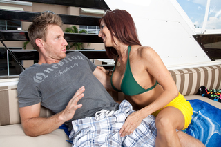 Lucky guy cools off with his friends hot mom from Naughty America