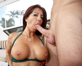 Levi Cash & Tara Holiday in My Friend's Hot Mom - Naughty America - Sex Position #5