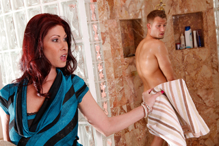 Tiffany Mynx & Bill Bailey in My Friend's Hot Mom - Naughty America - Sex Position #3