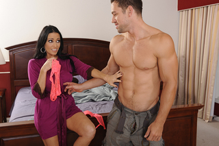 Vanilla DeVille & Johnny Castle in My Friend's Hot Mom - Naughty America - Sex Position #3