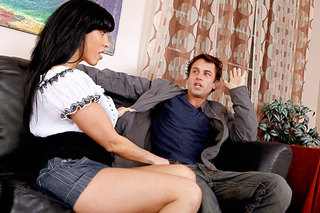 Veronica Rayne lets a dude use her juicy from Naughty America