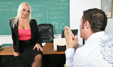 Alexis Golden & Danny Mountain in My First Sex Teacher - Naughty America - Sex Position #1