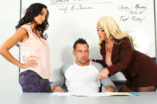 Alura Jenson, Ava Addams & Johnny Castle in My First Sex Teacher - My First Sex Teacher - Sex Position #1