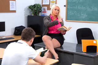 Alura Jenson & Bruce Venture in My First Sex Teacher - Naughty America - Sex Position #1