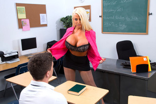 Alura Jenson & Bruce Venture in My First Sex Teacher - Naughty America - Sex Position #3