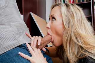 Brandi Love & Bruce Venture in My First Sex Teacher - Naughty America - Sex Position #5