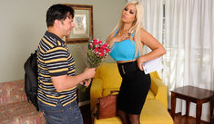 Bridgette B. & Anthony Rosano in My First Sex Teacher - Naughty America - Sex Position #1