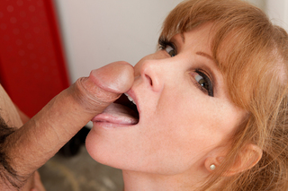 Darla Crane teaches her student a lesson in cock sucking from Naughty America