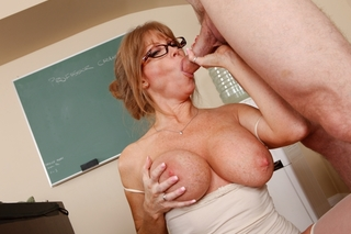 Darla Crane & Jordan Ash in My First Sex Teacher - Naughty America - Sex Position #5