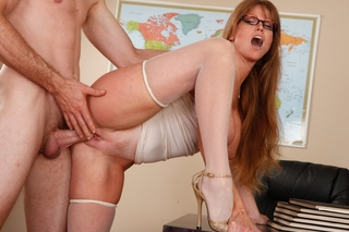 Darla Crane & Jordan Ash in My First Sex Teacher - Naughty America - Sex Position #8