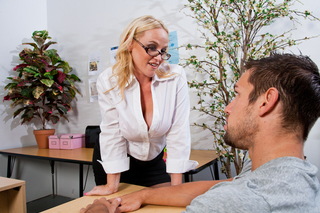 Dee Siren & Johnny Castle in My First Sex Teacher - Naughty America - Sex Position #2