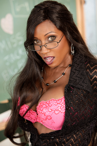 Diamond Jackson & Kris Slater in My First Sex Teacher - Naughty America - Centerfold