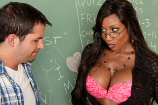 Diamond Jackson & Kris Slater in My First Sex Teacher - Naughty America - Sex Position #2
