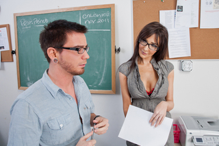Diana Prince & Dane Cross in My First Sex Teacher - Naughty America - Sex Position #2