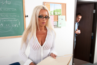 Diana Doll & Johnny Castle in My First Sex Teacher - Naughty America - Sex Position #2