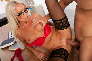 Diana Doll & Johnny Castle in My First Sex Teacher - Naughty America - Sex Position #8