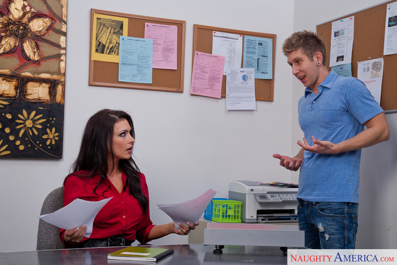 Jessica Jaymes & Danny Wylde in My First Sex Teacher - Naughty America - Sex Position #2